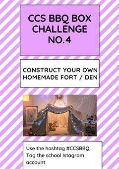 BBQ Challenge Day 4 - Build a Fort!