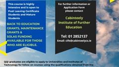 Enrolling for Business and Childcare Post Leaving Cert Courses
